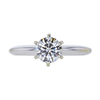 0.81 ct. Round Cut Solitaire Ring, J, VS2 #3