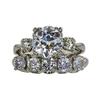 1.86 ct. European Cut Bridal Set Ring, G-H, I2 #1