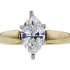 1.52 ct. Marquise Cut Solitaire Ring, H, I1 #3