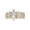 0.86 ct. Marquise Cut Ring, F, SI2 #3