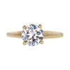0.88 ct. Round Cut Solitaire Ring, I, VS1 #3