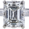 1.57 ct. Emerald Cut Solitaire Ring, H, VS2 #4