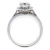 1.2 ct. Round Cut Bridal Set Ring, G-H, I1 #2