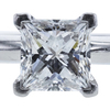 0.74 ct. Princess Cut Solitaire Tiffany & Co. Ring, F, VS1 #4