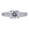 1.00 ct. Round Cut Solitaire Ring, D, SI1 #3