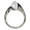 1.16 ct. Marquise Cut Bridal Set Ring, F, VS2 #4