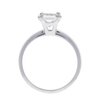 1.2 ct. Princess Cut Solitaire Ring, G, SI2 #4
