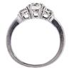 1.04 ct. Round Cut 3 Stone Ring #2