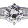 2.19 ct. Round Cut Solitaire Ring, J, VVS2 #4
