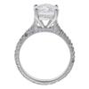 2.22 ct. Round Cut Bridal Set Ring, E, SI1 #3