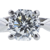 1.06 ct. Octagonal Modified Cut Solitaire Ring, I, SI2 #4