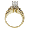 1.06 ct. Round Cut Solitaire Ring, G, SI1 #4