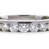 Round Cut Eternity Band Tiffany & Co. Ring, G-H, VS1-VS2 #1