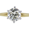 1.68 ct. Round Cut Solitaire Ring #1