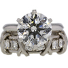 4.39 ct. Round Cut Bridal Set Tiffany & Co. Ring #1