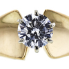 1.04 ct. Round Cut Solitaire Ring, G-H, I1 #1