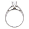 0.59 ct. Round Cut Solitaire Ring, E, SI1 #4