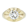 3.65 ct. Round Cut Solitaire Ring, M-Z, SI2 #3