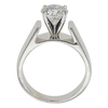 1.62 ct. Round Cut Solitaire Ring, H, I2 #4