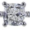 1.46 ct. Cushion Cut Solitaire Ring, H, VS2 #4