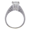 1.04 ct. Round Cut Solitaire Ring, H, SI2 #2