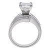 2.55 ct. Princess Cut Ring, F-G, I1-I2 #3