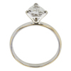 1.15 ct. Triangular Modified Cut Solitaire Ring, H-I, I1 #3