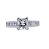 1.42 ct. Princess Cut Solitaire Ring, J, VS1 #3
