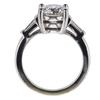 2.03 ct. Round Cut 3 Stone Ring #2