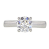 1.13 ct. Round Cut Solitaire Ring, F, VS2 #3
