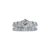 0.84 ct. Round Modified Brilliant Cut Bridal Set Ring, L, VS2 #3