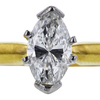 1.03 ct. Marquise Cut Bridal Set Ring, H, SI2 #4