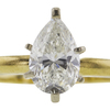 1.51 ct. Pear Cut Solitaire Ring, I, SI2 #4