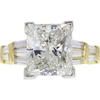 7.01 ct. Princess Cut Solitaire Ring, I, SI2 #2