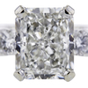 3.01 ct. Radiant Cut Bridal Set Ring #4