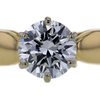 Antique GIA 1.35 ct. Round Cut Solitaire Ring #1