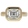 3.0 ct. Emerald Cut Solitaire Ring, K, VS2 #3