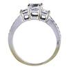 0.73 ct. Princess Cut Bridal Set Ring, G-H, SI1-SI2 #3