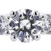 1.16 ct. Round Cut Bridal Set Ring #4