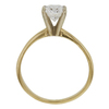 1.0 ct. Oval Cut Solitaire Ring, E, SI2 #4