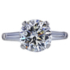 3.49 ct. Round Cut Loose Diamond, H, VS2 #3
