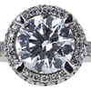 1.28 ct. Round Cut Bridal Set Ring, G, VS2 #4