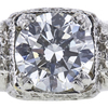 1.21 ct. Round Cut Bridal Set Ring, G, SI1 #4