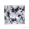 1.51 ct. Princess Cut 3 Stone Ring, F, VS2 #1
