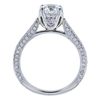 1.17 ct. Round Cut Solitaire Ring, D, VS1 #3