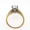 1.20 ct. Pear Cut Central Cluster Ring #1