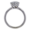 1.30 ct. Heart Cut Solitaire Ring, G, SI2 #1