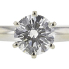 1.04 ct. Round Cut Solitaire Ring, J, I1 #4