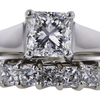 1.51 ct. Radiant Cut Bridal Set Ring #3