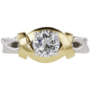 1.07 ct. Round Cut Solitaire Ring, J, SI1 #3